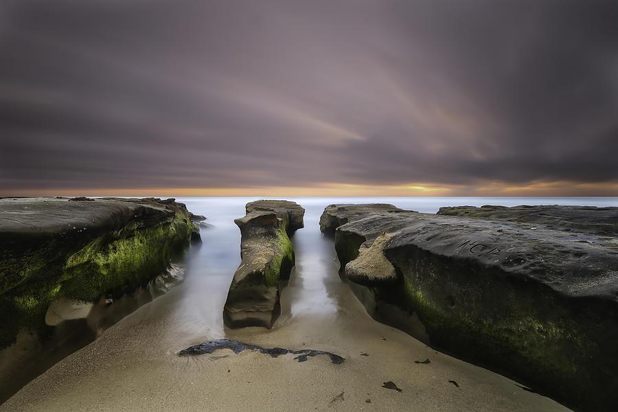 Ocean Photograph - La Jolla Reef by Larry Marshall