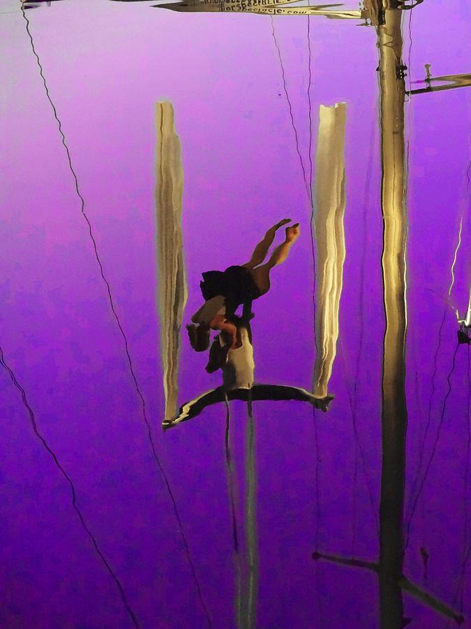 Anne Mott Photograph - La Loupiote In Lavender by Anne Mott