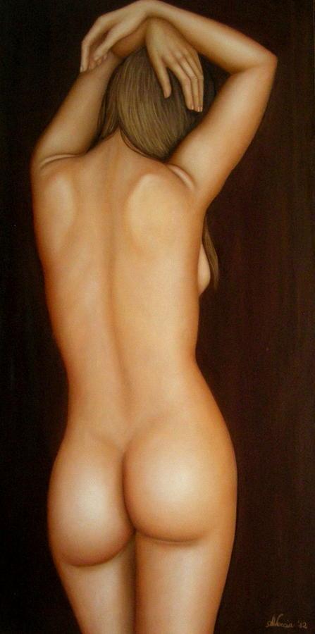 Nude Painting - La mia danza  by Alessandra Veccia