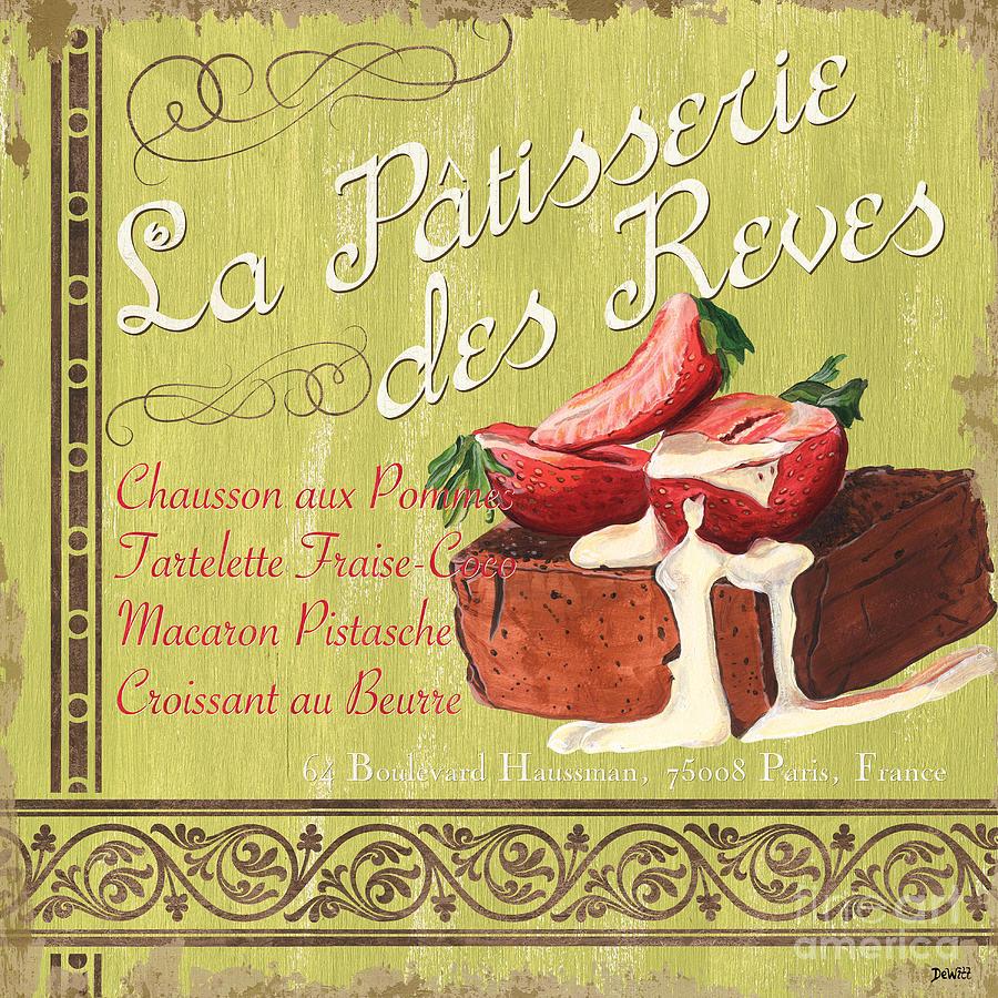 La Patisserie Des Reves 2 Painting