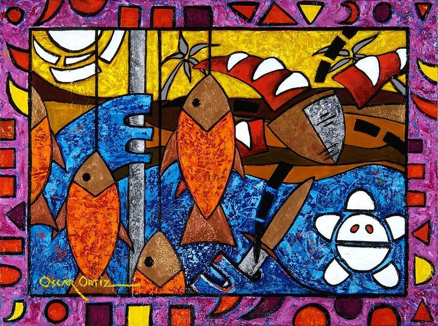 La pesca virgen de un hombre honrado by Oscar Ortiz