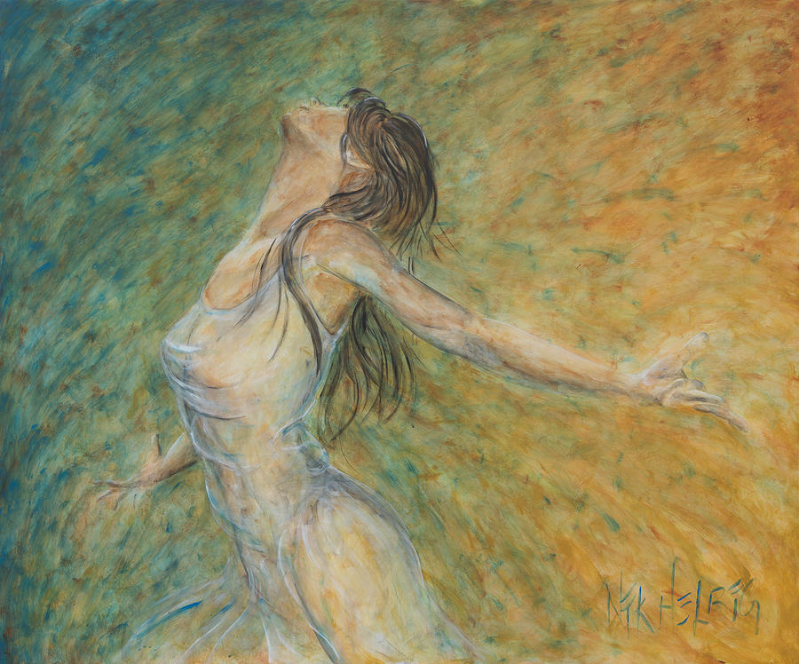 La Primavera Painting - La Primavera II by Nik Helbig