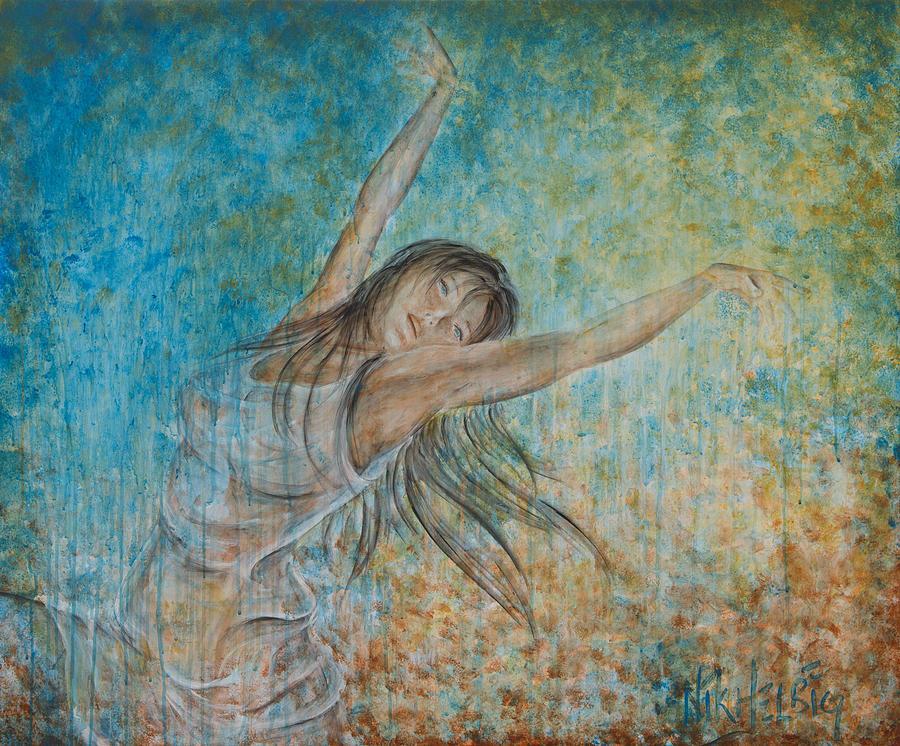 La Primavera Painting - la Primavera by Nik Helbig