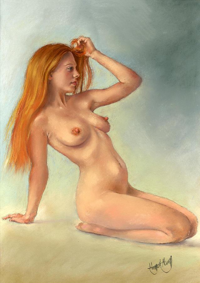 Pastel Painting - La Roja by Margaret Merry