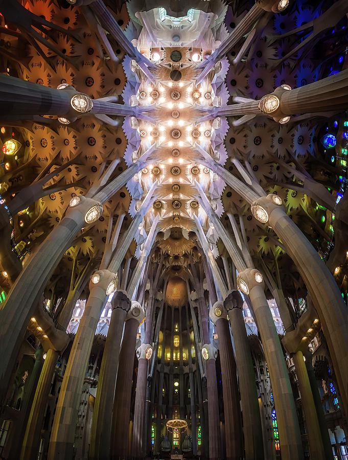 Barcelona Photograph - La Sagrada Famila?a by Ole Moberg Steffensen