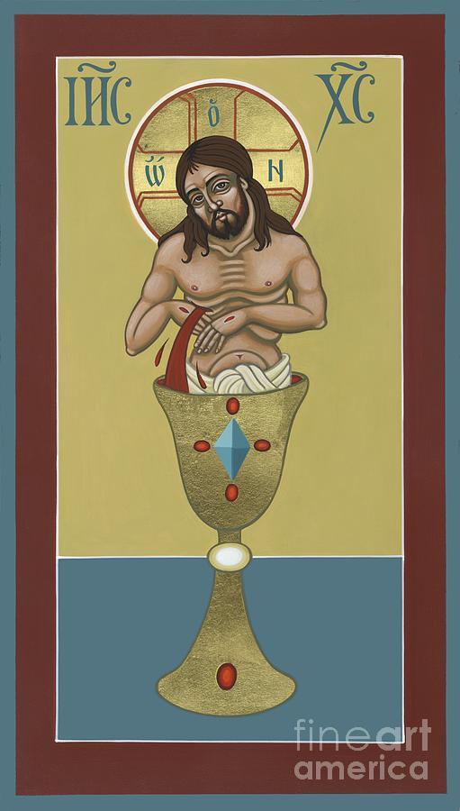 Jesus Painting - La Sangre de Cristo 242 by William Hart McNichols