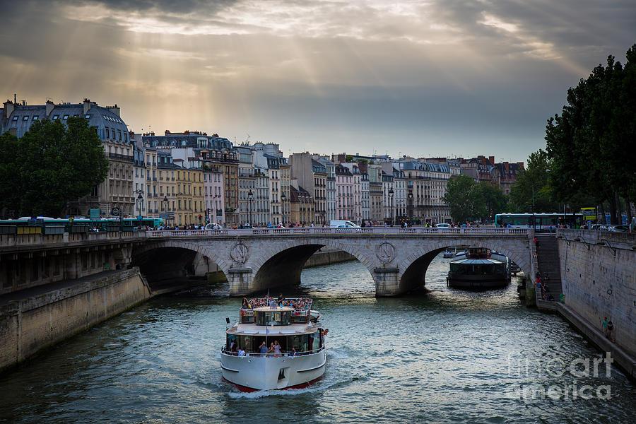 Europa Photograph - La Seine by Inge Johnsson