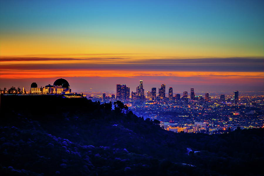 La Sunrise Light Photograph by Albert Valles