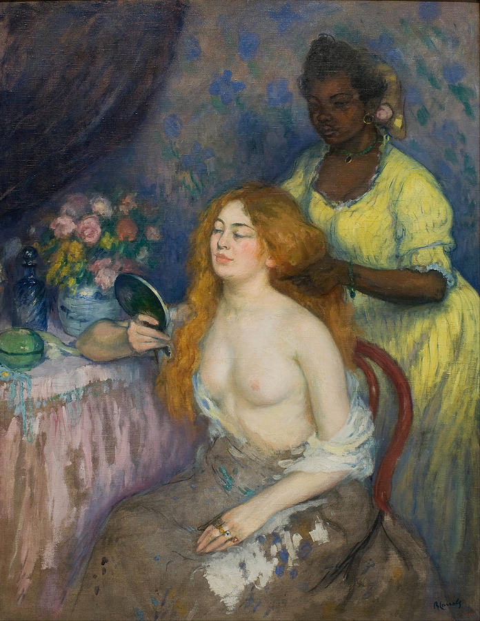 Beautiful Painting - La Toilette by Ricard Canals