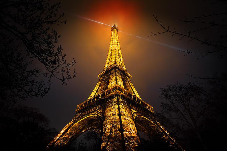 France Photograph - La Tour Eiffel by Clemens Geiger