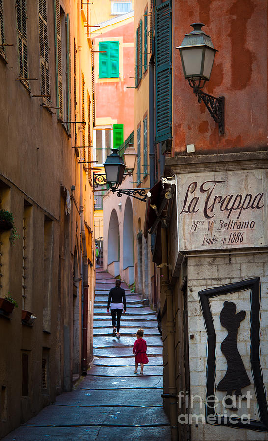 Cote D'azur Photograph - La Trappa by Inge Johnsson