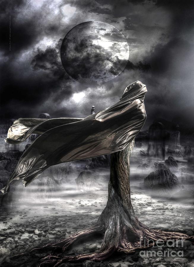 Goddess Digital Art - La Venere Terra by Betta Artusi