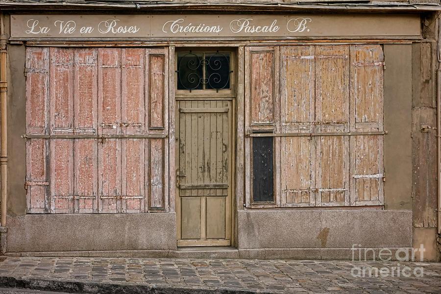 Old Photograph - La Vie En Roses Is Closed by Olivier Le Queinec