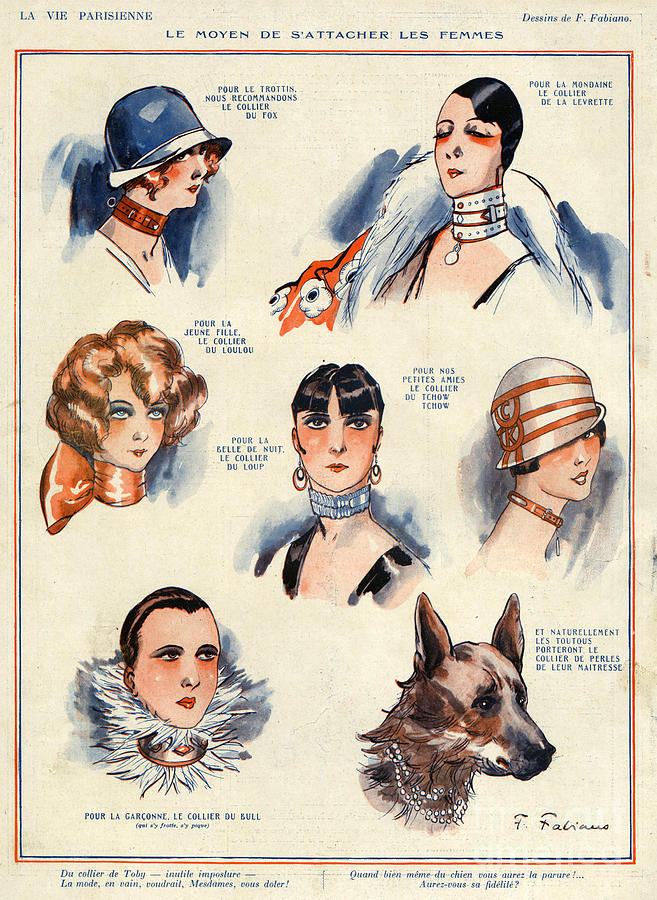 French Drawing - La Vie Parisienne 1924 1850s France F by The Advertising Archives