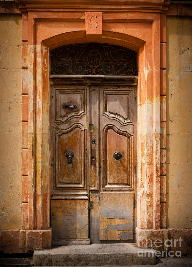 Arles Photograph - La Vieille Porte by Inge Johnsson