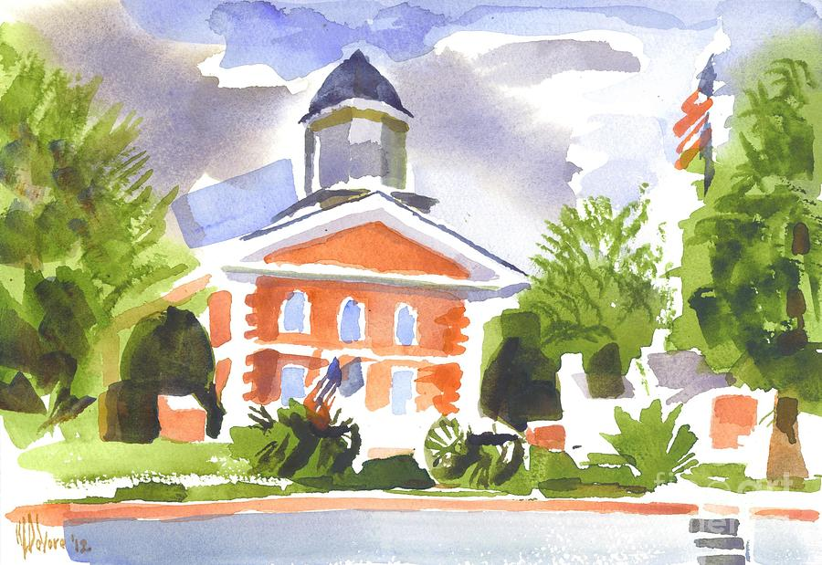 Colorful Painting - Labor Day Afternoon by Kip DeVore