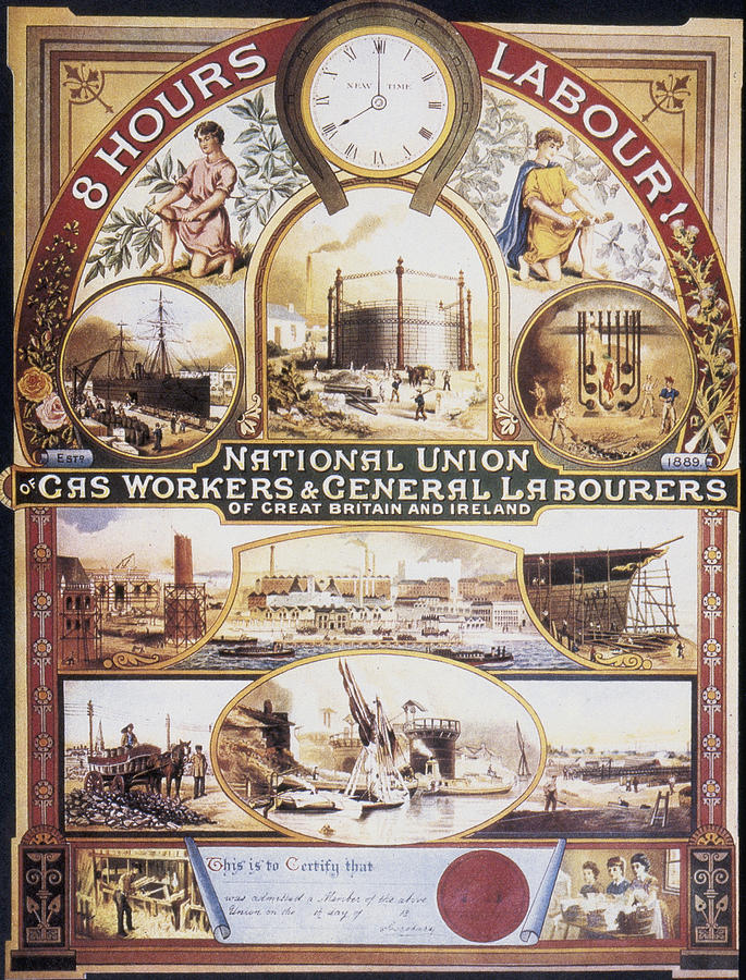 labor workfoce from the 19th century The first celebrated us labor day was on tuesday, september 5, 1882 in new  york  to recognize the contributions of men and women in the us workforce, but   americans worked 12-hour days seven days a week during the 19th century.
