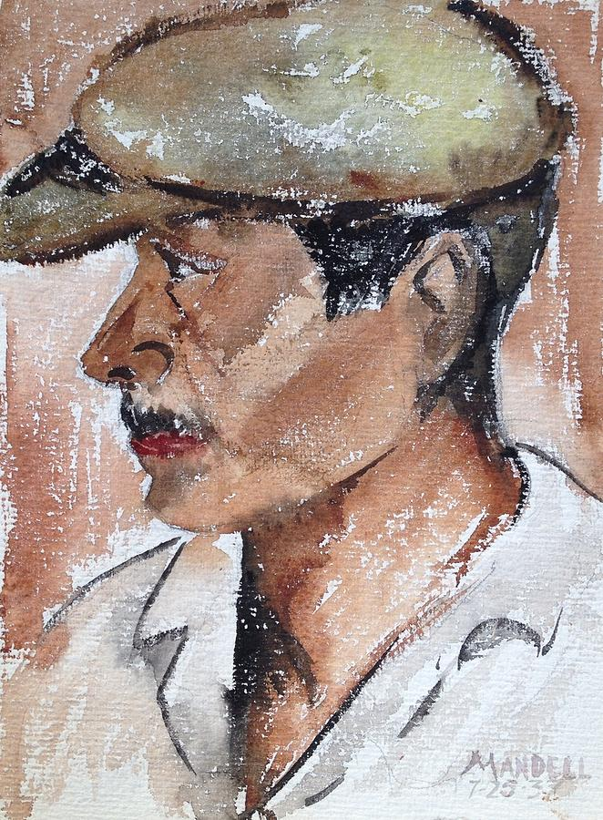 Worker Painting - Laborer by Maxwell Mandell