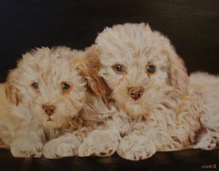 Dog Painting - Labradorable by Cherise Foster