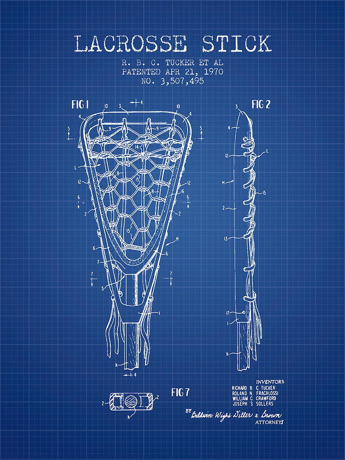 Lacrosse stick patent from 1970 blueprint digital art by aged pixel lacrosse digital art lacrosse stick patent from 1970 blueprint by aged pixel malvernweather Image collections