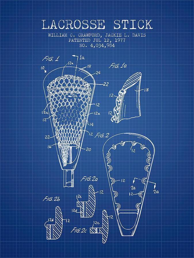 Lacrosse stick patent from 1977 blueprint digital art by aged pixel lacrosse digital art lacrosse stick patent from 1977 blueprint by aged pixel malvernweather Images