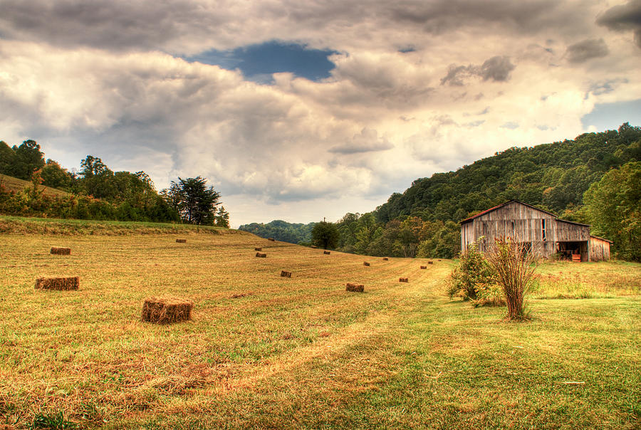 Lacy Photograph - Lacy Farm Morgan County Kentucky by Douglas Barnett