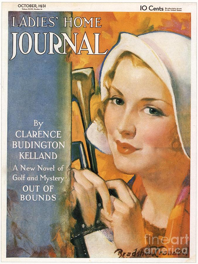 1930s Drawing - Ladies Home Journal 1930s Usa Golf by The Advertising Archives