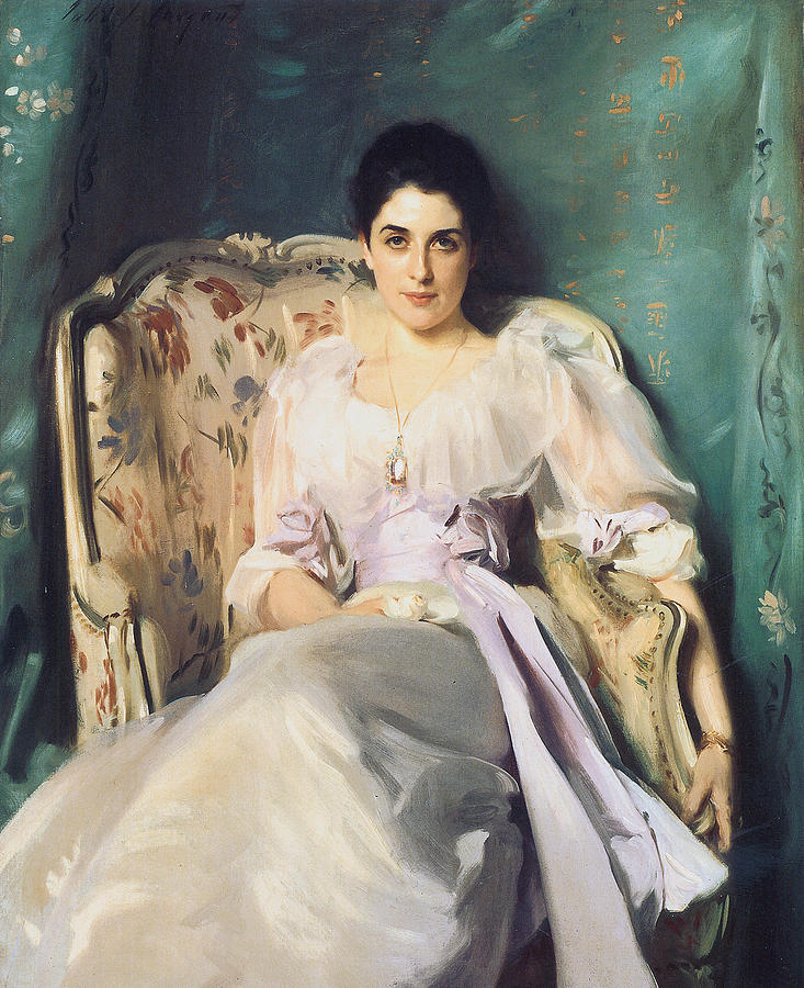 John Singer Sargent Painting - Lady Agnew Of Lochnaw by John Singer Sargent