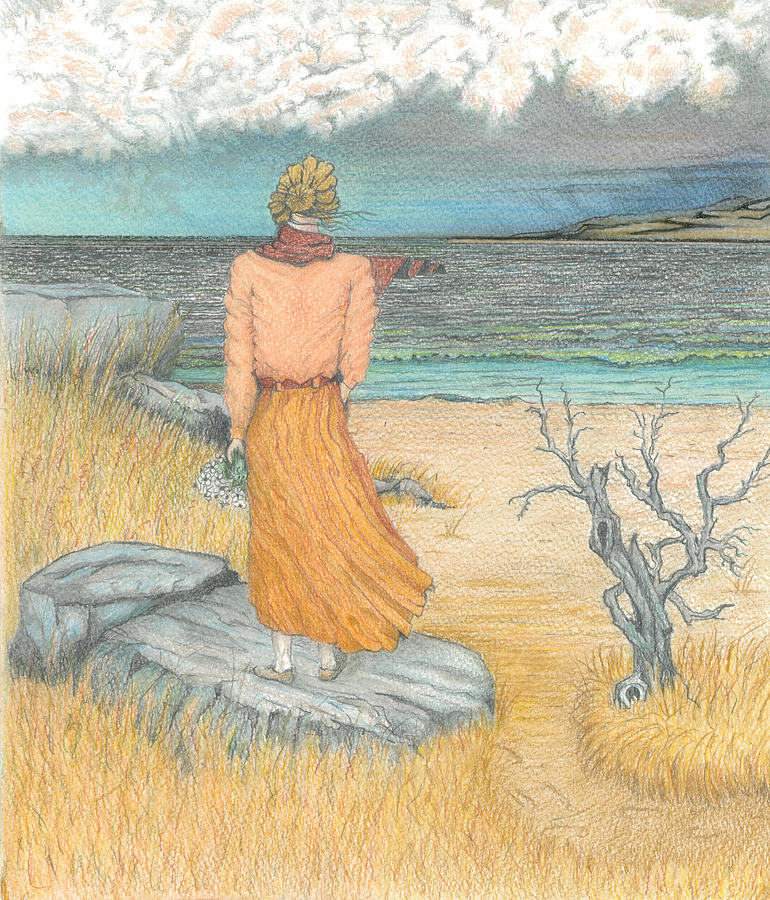 Lady by the Sea by David Gallagher