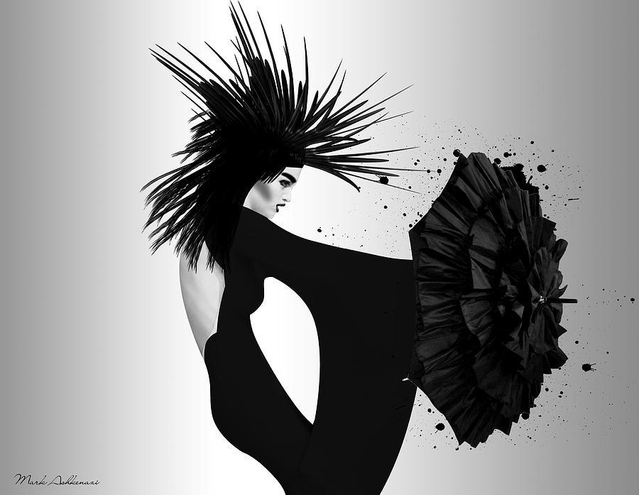 Woman Photograph - Lady D 2 by Mark Ashkenazi