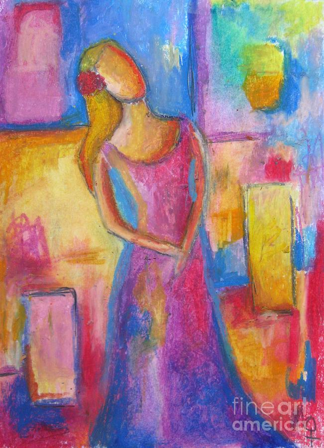 Modern Painting - Lady Grace by Venus