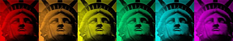 Statue Of Liberty Photograph - Lady Liberty For All by Rob Hans