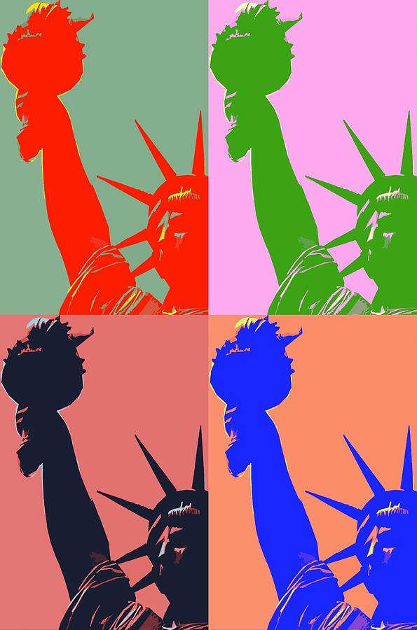 Statue Of Liberty Photograph - Lady Liberty by Gilda Parente