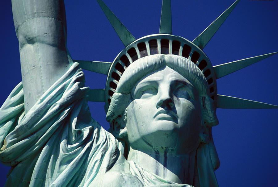 Lady Liberty Photograph - Lady Liberty by Jon Neidert