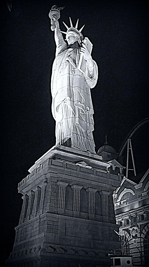 Lady Liberty Photograph - Lady Liberty by Kay Novy