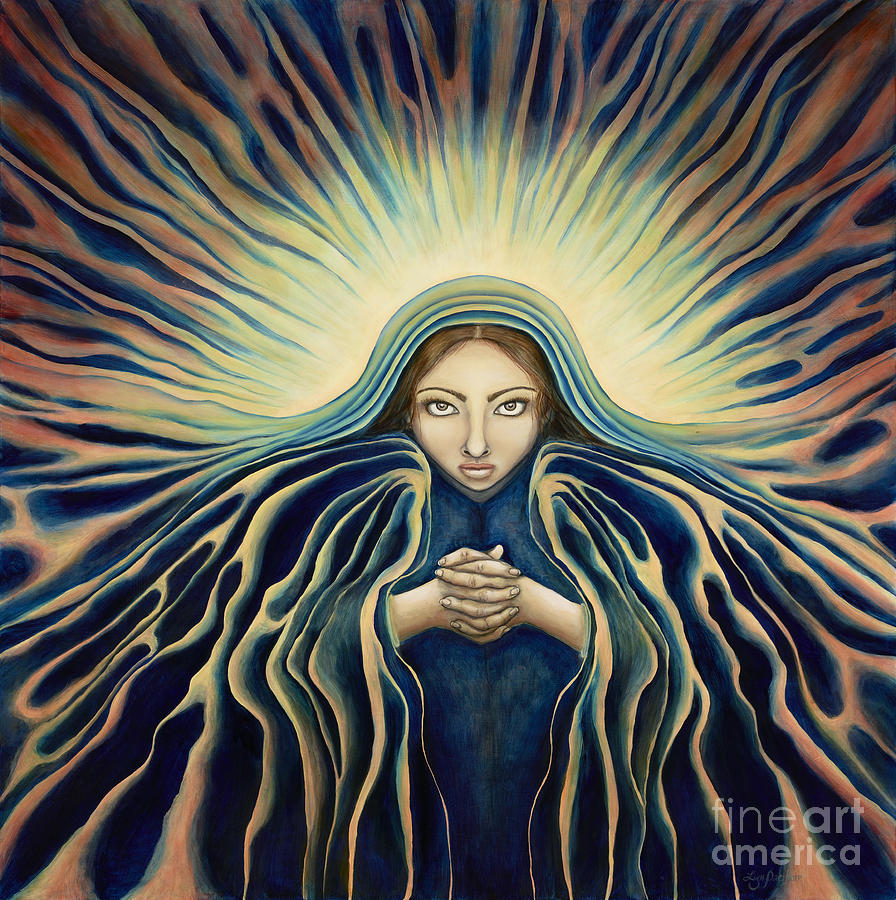 Virgin Mary Painting - Lady Of Light by Lyn Pacificar