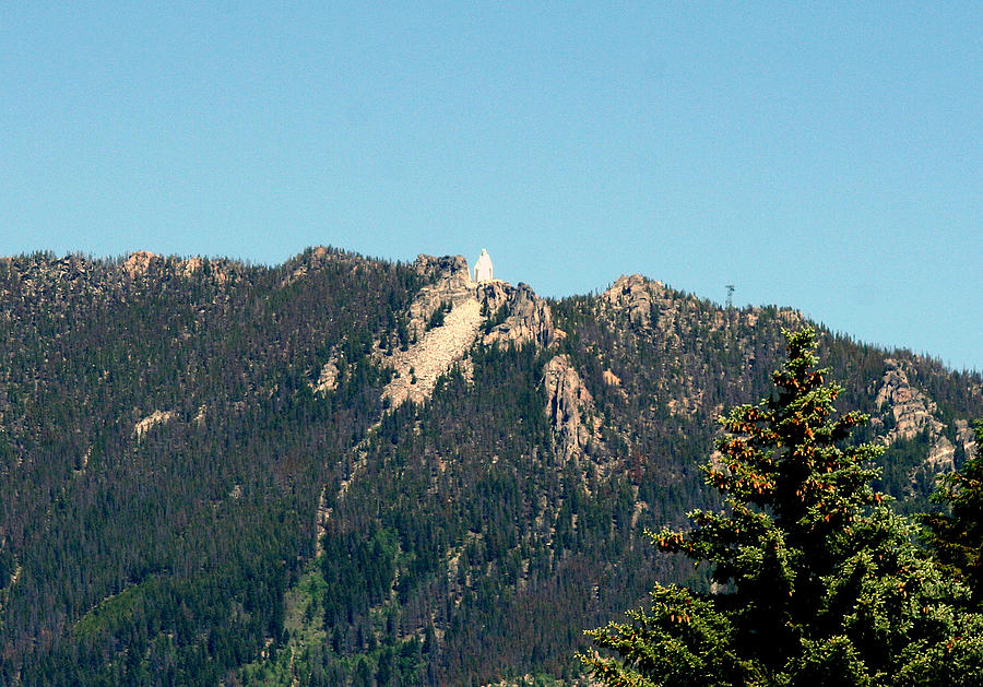 Butte Montana Photograph - Lady Of The Rockies Butte Montana by Larry Stolle
