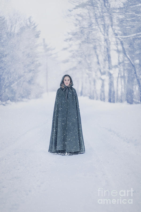 Kremsdorf Photograph - Lady Of The Winter Forest by Evelina Kremsdorf