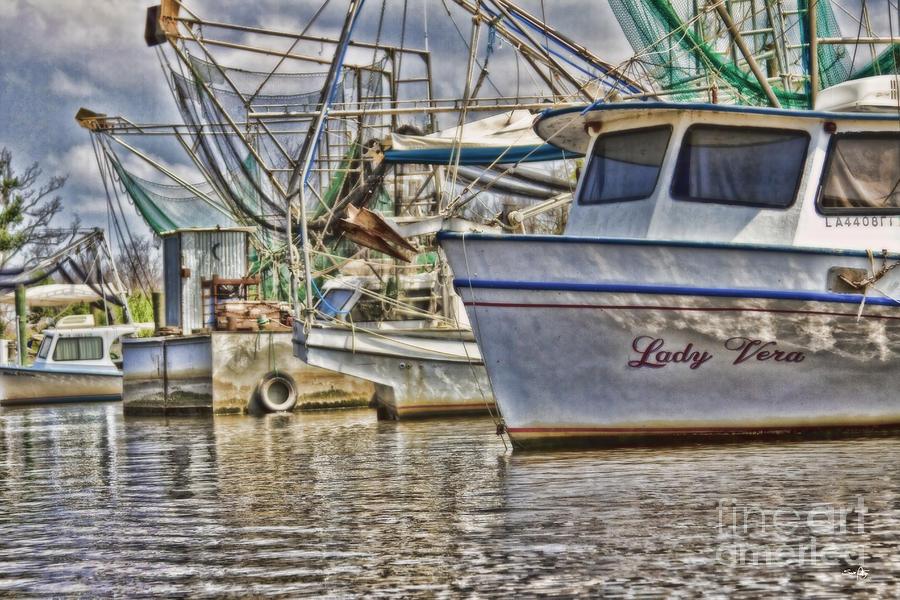 Shrimp Boat Photograph - Lady Vera by Scott Pellegrin