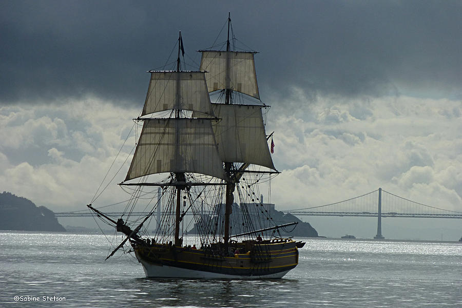 Tall Ship Photograph - Lady Washington by Sabine Stetson
