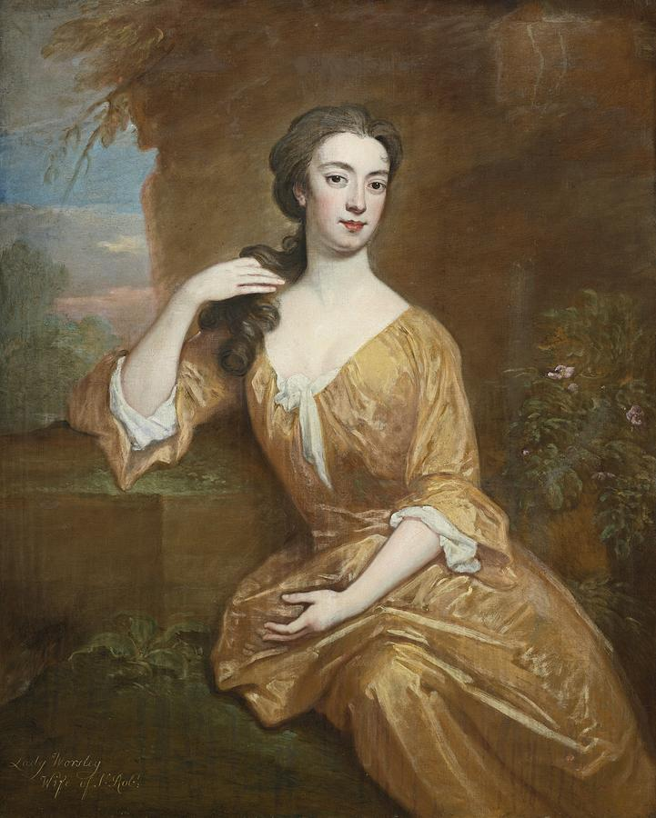 Lady Worsley Painting