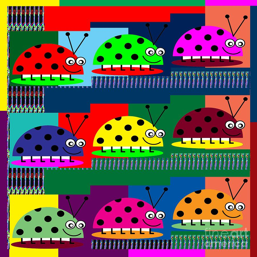 ladybug lady bug show kids room catagory science biology insects