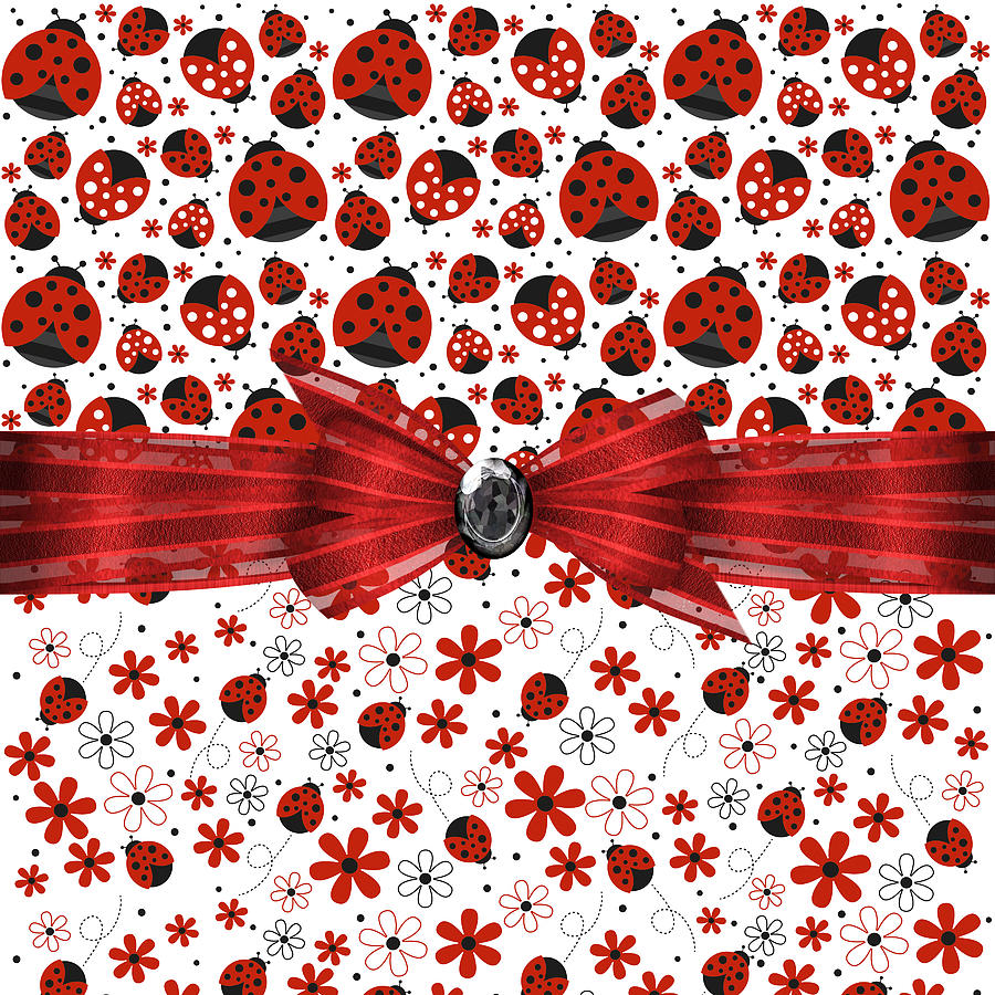 Ladybug Magic Digital Art By Debra Miller