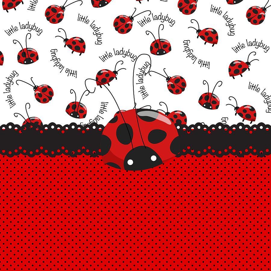Ladybug Sweet Surprises Digital Art By Debra Miller