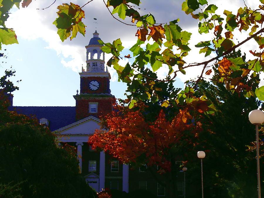 Lafayette College Photograph - Lafayette College - Easton Pa by Jacqueline M Lewis