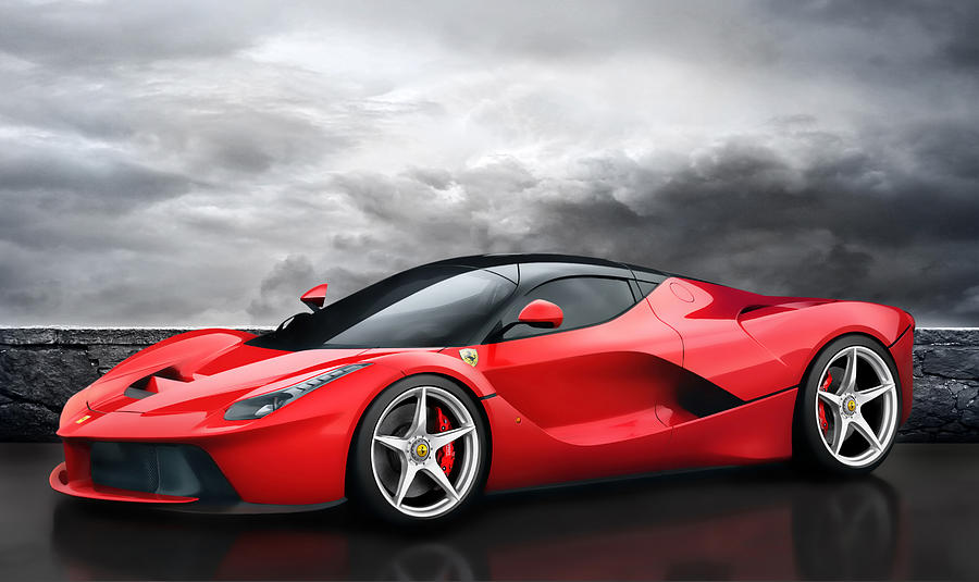laferrari dreamscape digital art by peter chilelli. Black Bedroom Furniture Sets. Home Design Ideas