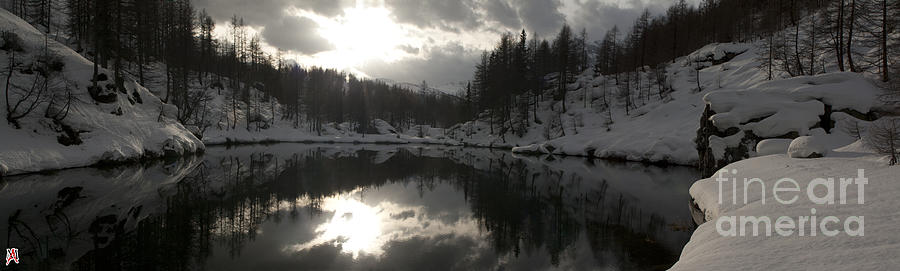 Lake Photograph - Lago Delle Streghe by Marco Affini