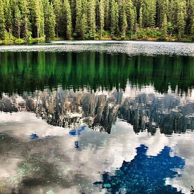 Outdoor Photograph - Lago Di #carezza #dolomiti #altoadige by Luisa Azzolini