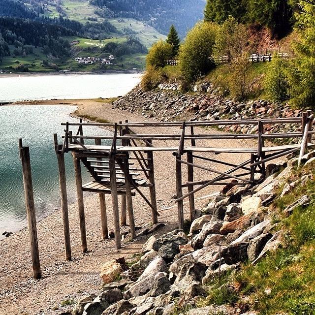 Alps Photograph - Lago Di #resia #altoadige by Luisa Azzolini