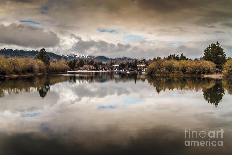 Lake Tahoe Photograph - Lagoon At Cove East by Mitch Shindelbower